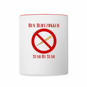 Two Color Mug (Stab By Stab) - Tasse zweifarbig