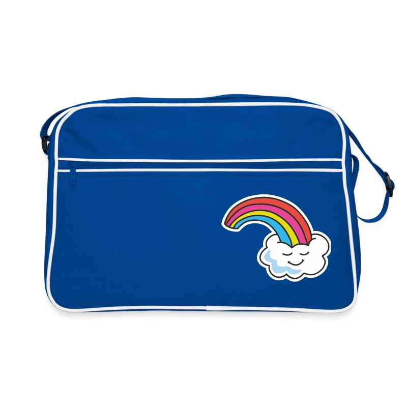 OMG Rainbow – Retro Bag - Retro Tasche