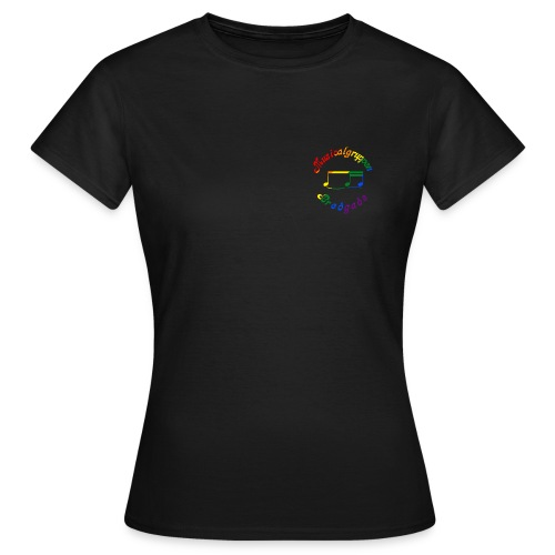 Dame T-shirt - Pride/RENT - Dame-T-shirt