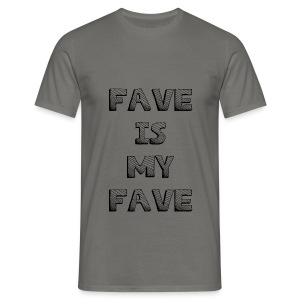 Fave is my Fave T-Shirt : graphite grey - Men's T-Shirt