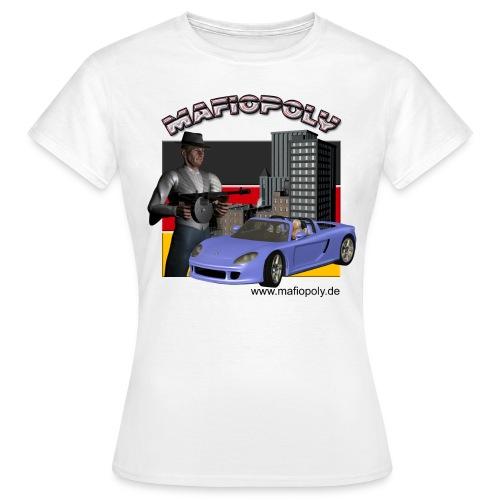 Mafiopoly Frauen weiß 2 - Frauen T-Shirt