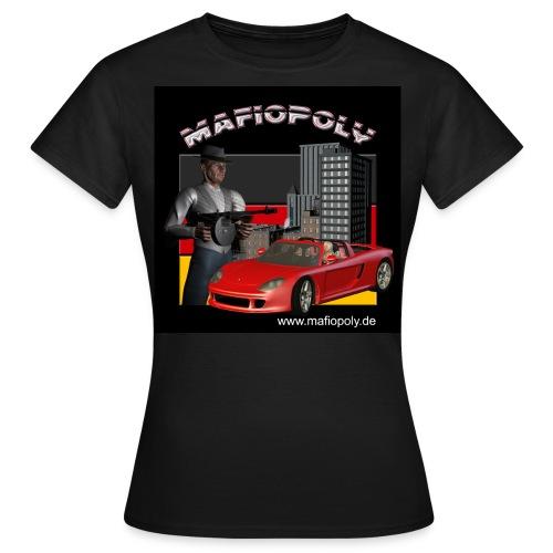 Mafiopoly Frauen schwarz - Frauen T-Shirt