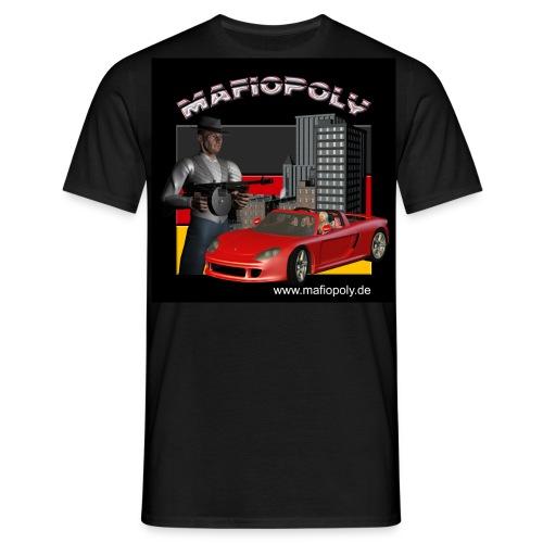 Mafiopoly Männer schwarz - Männer T-Shirt