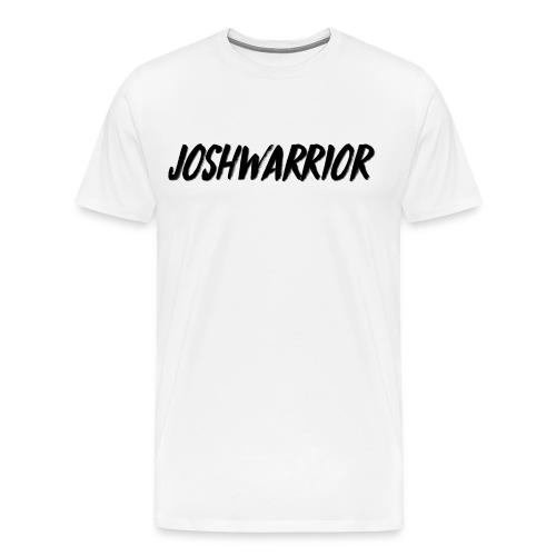 Joshwarrior T-Shirt White - Men's Premium T-Shirt