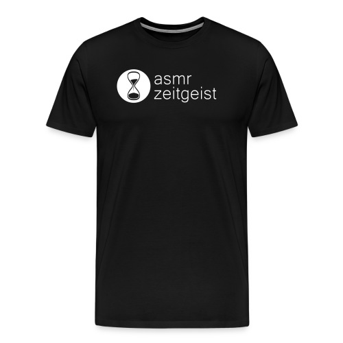 asmr zeitgeist  - black t-shirt - Men's Premium T-Shirt