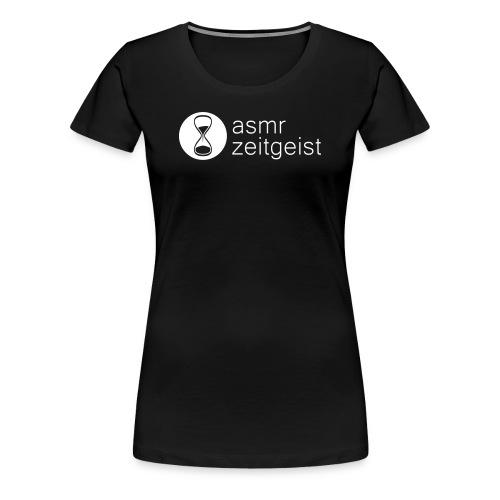 asmr zeitgeist - black t-shirt - Women's Premium T-Shirt