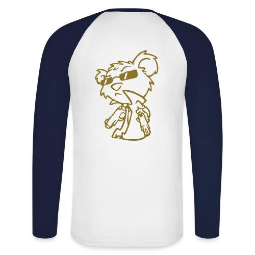Bad Bär - Männer Baseballshirt langarm