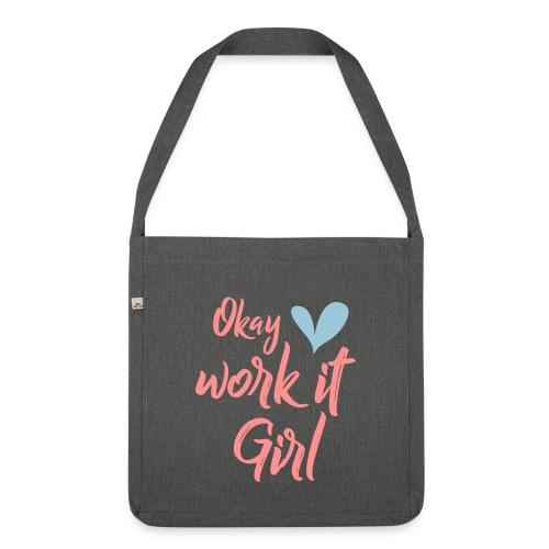 Work it Girl Sport bag - Schoudertas van gerecycled materiaal