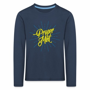 Proper Mint Children's Long Sleeve T-Shirt - Kids' Premium Longsleeve Shirt