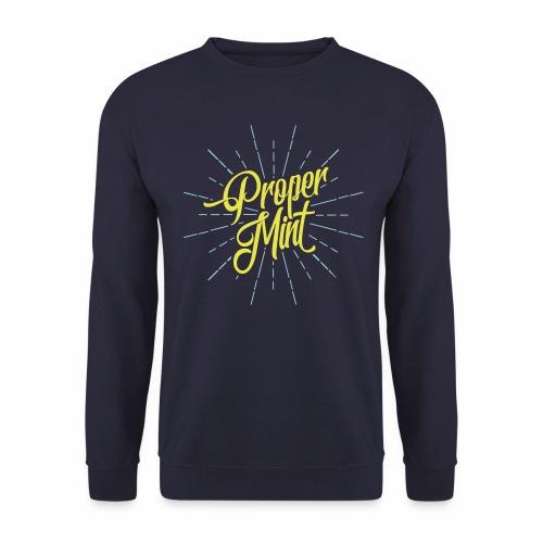 Proper Mint Men's Sweatshirt - Men's Sweatshirt