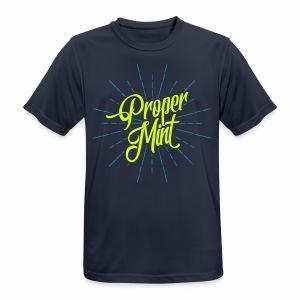 Proper Mint Men's Breathable T-Shirt - Men's Breathable T-Shirt