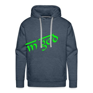 IN GOD WE TRUST  - Sweat-shirt à capuche Premium pour hommes