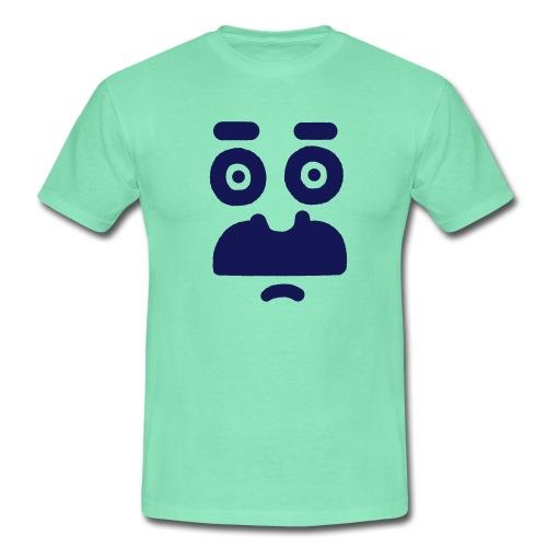 Helmi t– Verunsichert - Men's T-Shirt
