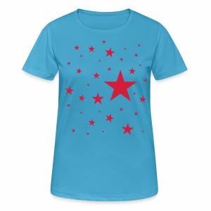 Sterne  - Frauen T-Shirt atmungsaktiv