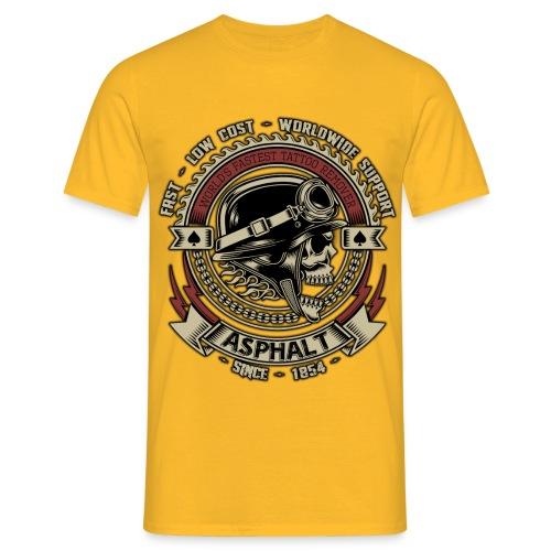 Asphalt - Maglietta da uomo