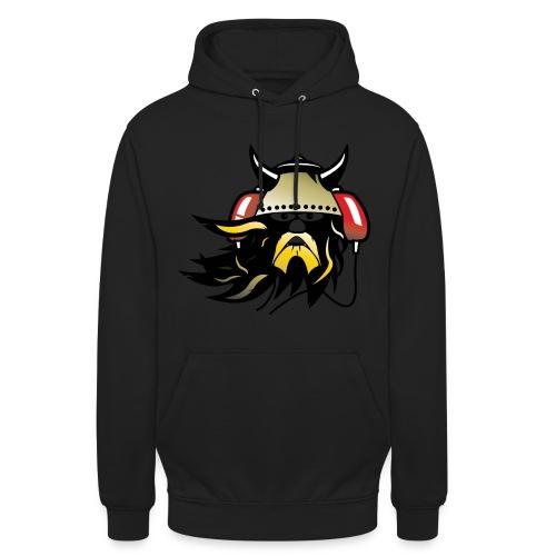 Techno Viking Unisex Hoodie Black - Unisex Hoodie