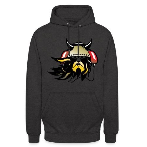 Techno Viking Unisex Hoodie Grey - Unisex Hoodie