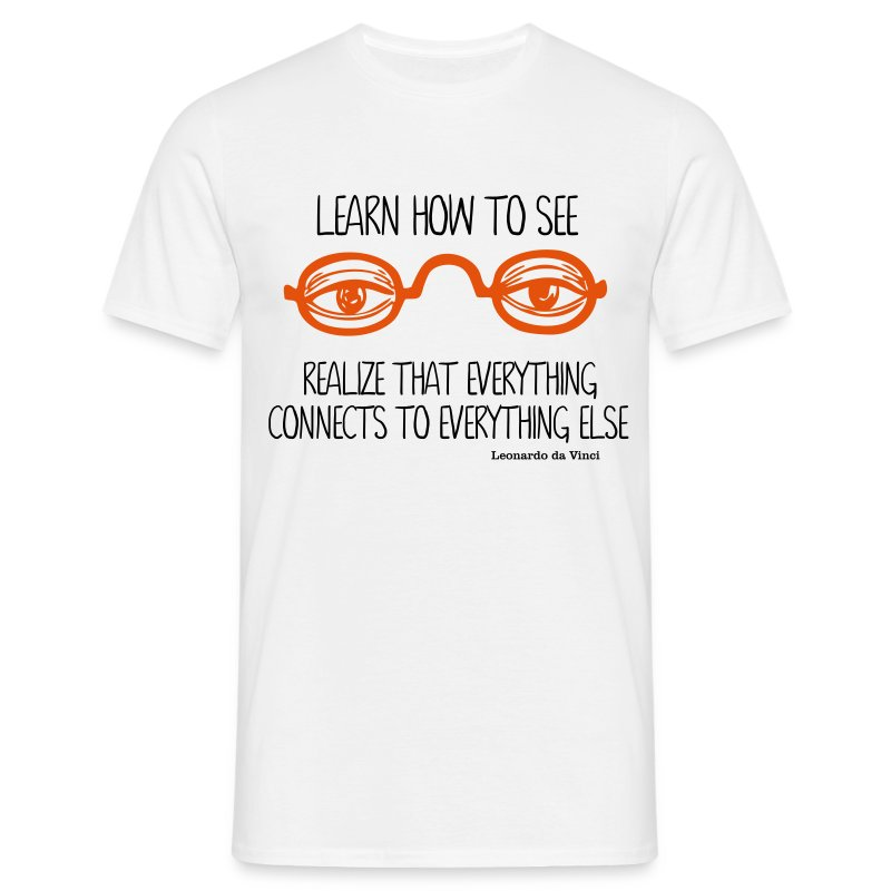 Learn How To See - T-shirt Homme