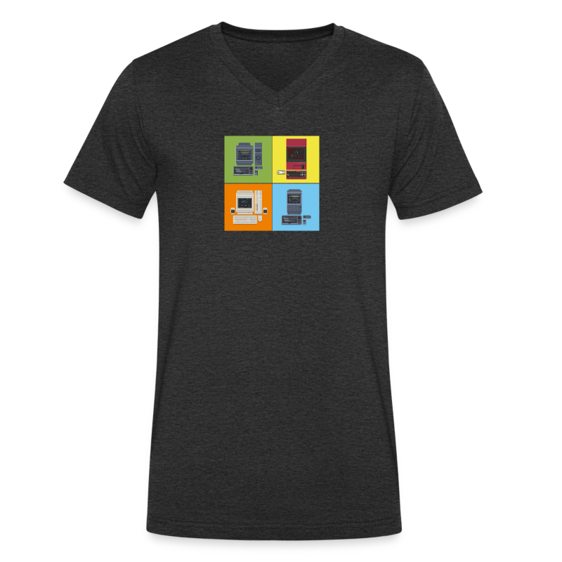 Japanese Computers - Men's V-Neck T-Shirt