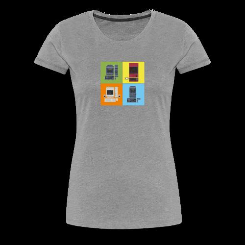 Japanese Computers - Women's Premium T-Shirt