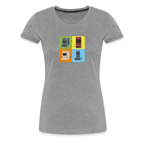 Japanese Computers - Women's Premium T-Shirt