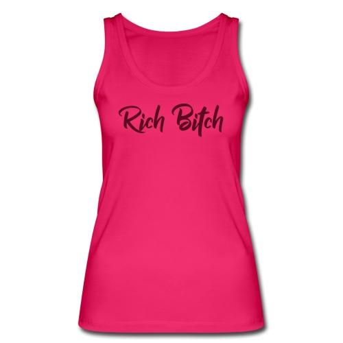 RichBitch Pink - Vrouwen bio tanktop van Stanley & Stella