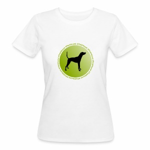Plott Hound - Frauen Bio-T-Shirt