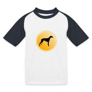 Greyhound - T-shirt baseball Enfant