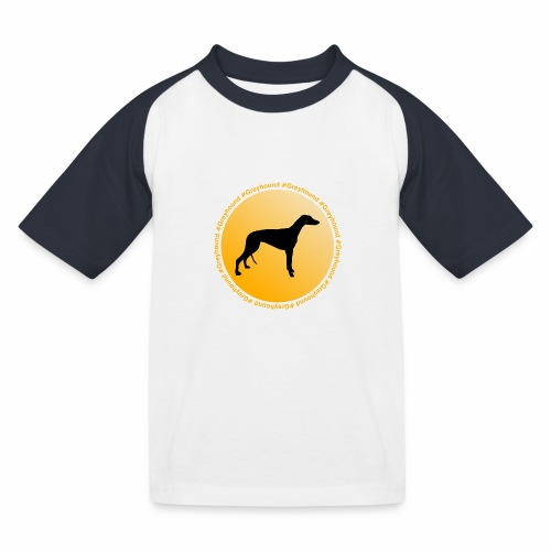 Greyhound - Kinder Baseball T-Shirt