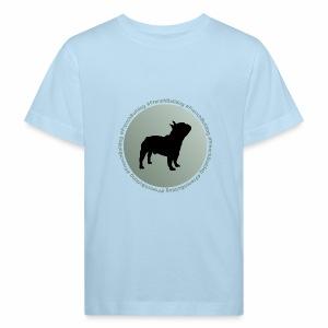 Französische Bulldogge - Kinder Bio-T-Shirt