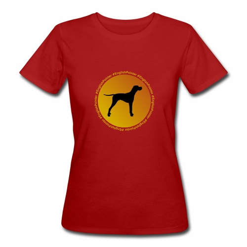 English Pointer - Frauen Bio-T-Shirt