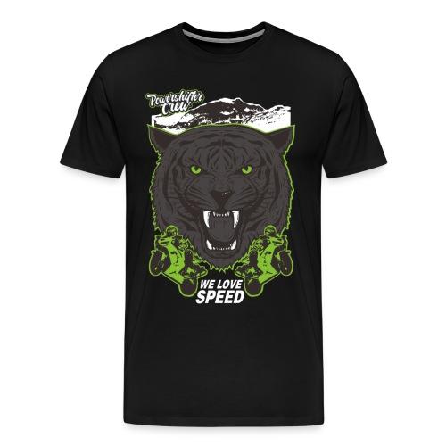 T-Shirt Bear Powershifter - Männer Premium T-Shirt