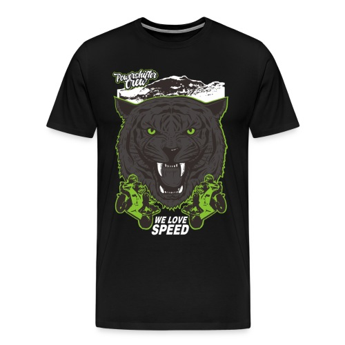 T-Shirt Bear Powershifter - Männer Premium T-Shirt