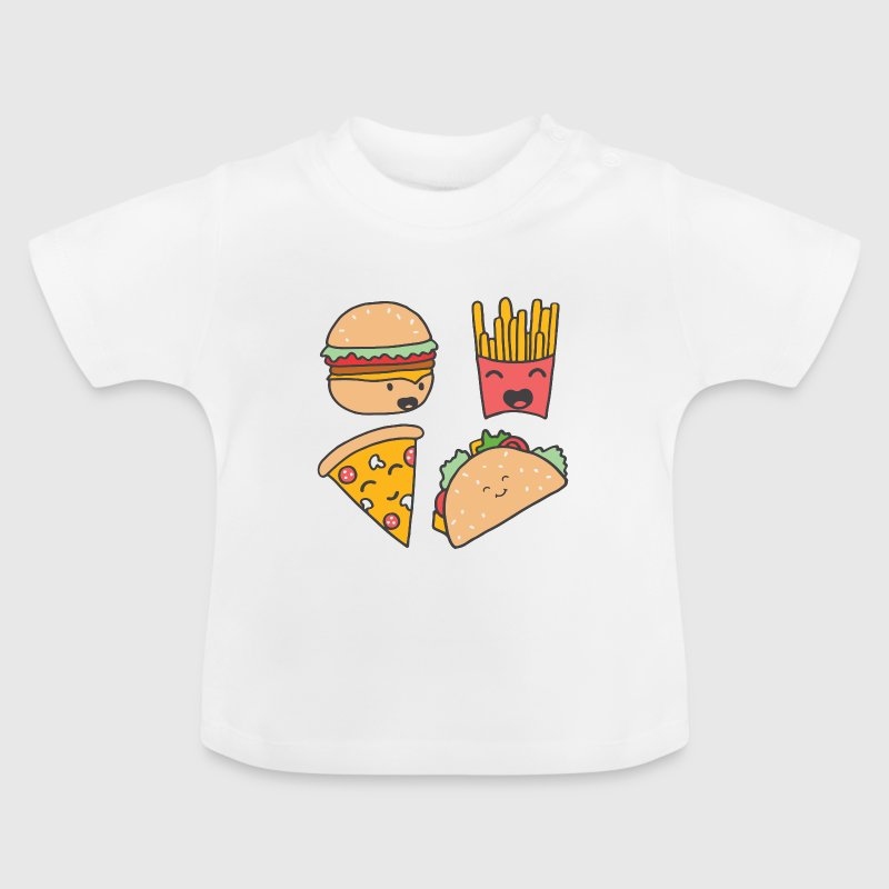 fast food friends - Baby T-Shirt