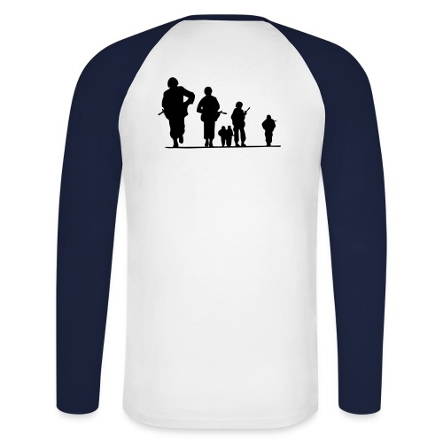 brothers in arms - T-shirt baseball manches longues Homme