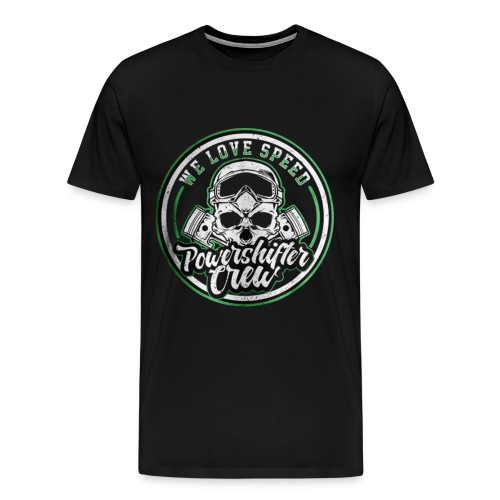 T-Shirt with round - Männer Premium T-Shirt