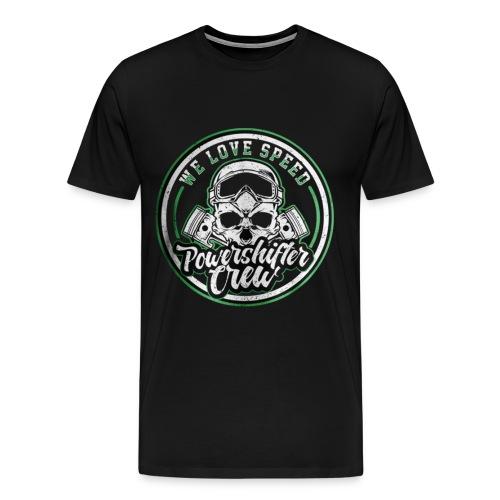 T-Shirt with round - Männer Premium T-Shirt