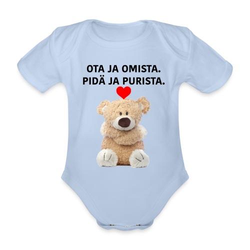 Ota ja omista - Vauvan Body - Vauvan lyhythihainen luomu-body