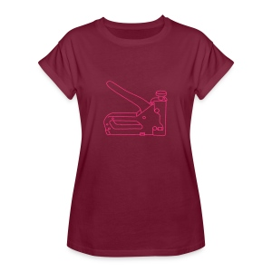 Tacker Nagler - Frauen Oversize T-Shirt