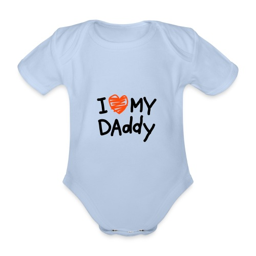 FUTBOL - Body orgánico de maga corta para bebé