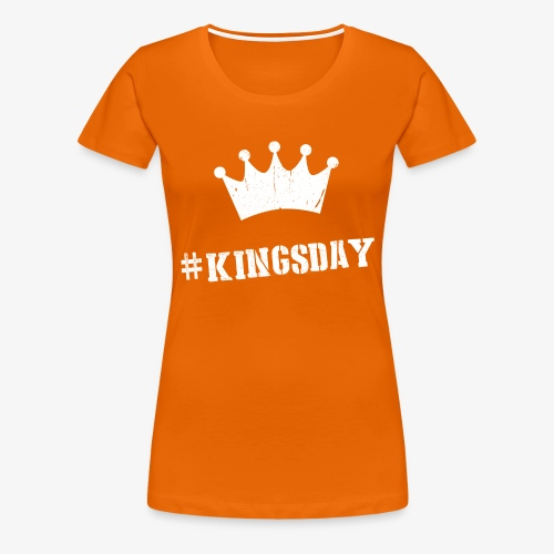 #kingsdag Maxima - Vrouwen Premium T-shirt