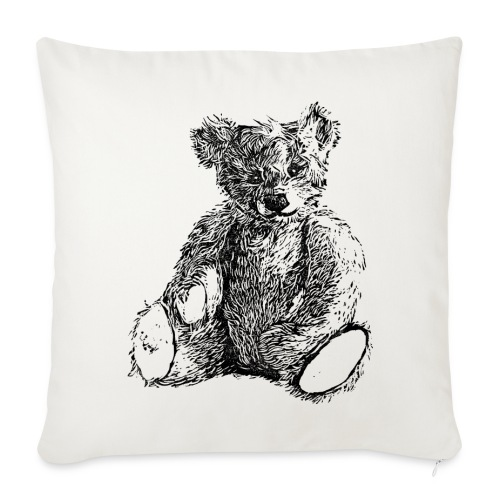 Teddy  - Sofa pillowcase 17,3'' x 17,3'' (45 x 45 cm)