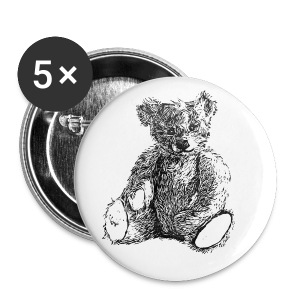 Teddy Button - Buttons large 56 mm