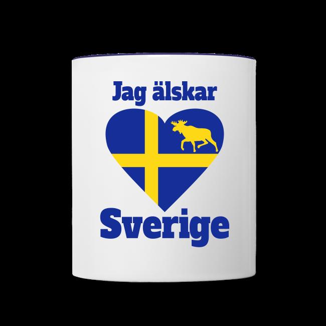 Sverige Schweden Sweden Herz Tassen & Zubehör