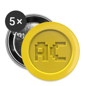 Arcade Crowd Logo Buttons - Buttons small 25 mm