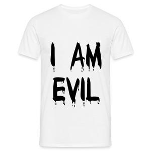 evil  - Männer T-Shirt