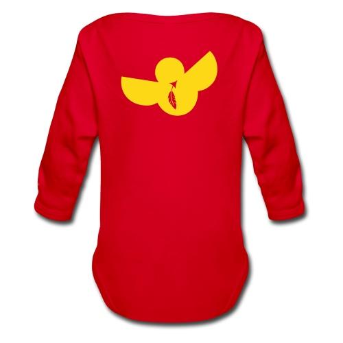 designbar.baby_fluffy - Organic Longsleeve Baby Bodysuit