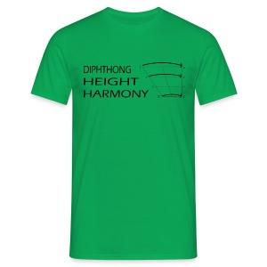 DHH men's green - Men's T-Shirt