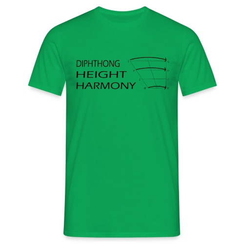 DHH men's green - Men's T-Shirt
