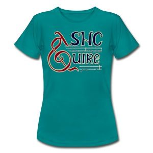Quire women's blue - Women's T-Shirt